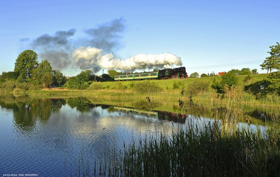 Stęszew, pociąg osobowy Wolsztyn - Poznań Gł.