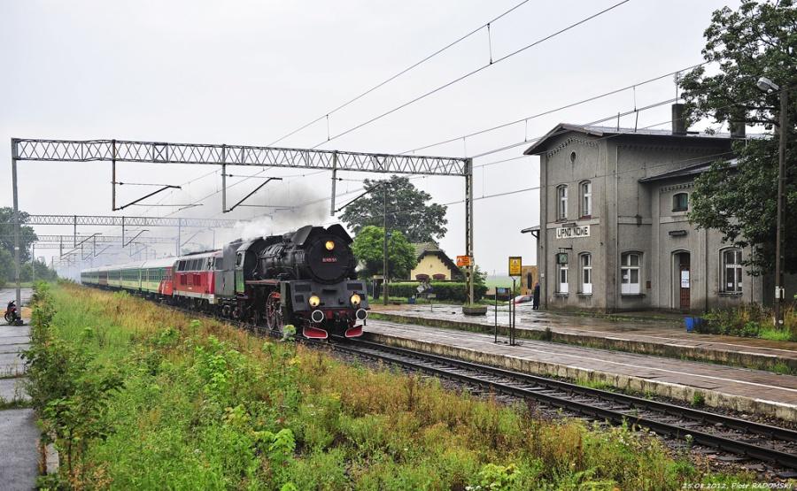 Lipno Nowe, pociąg specjalny Poznań Gł. - Kłodzko
