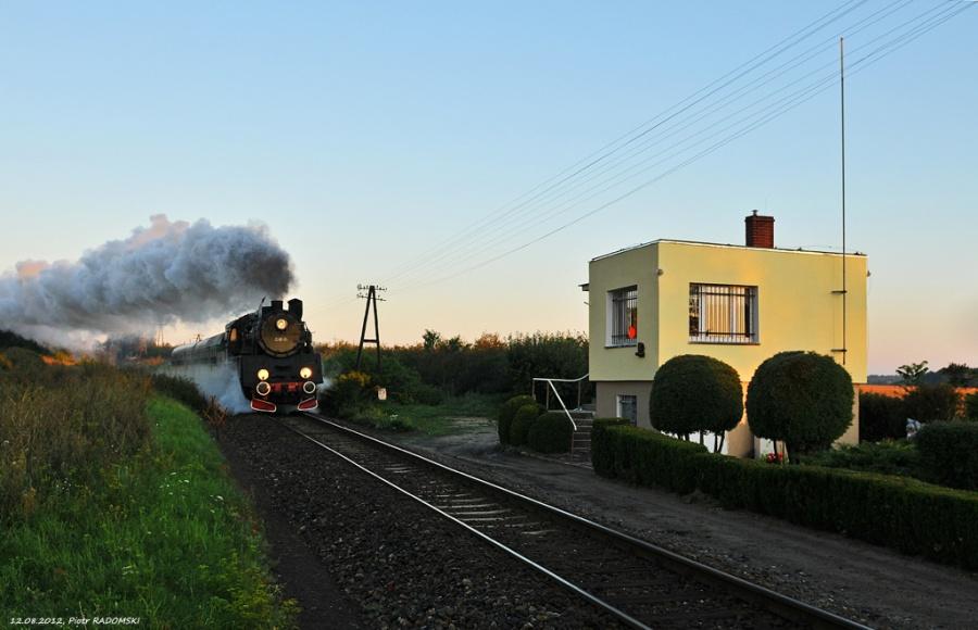 Drzymałowo - Gradowice, pociąg osobowy Wolsztyn - Poznań Gł.