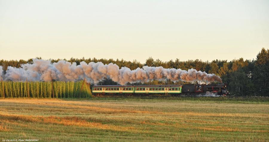 Drzymałowo, pociąg osobowy Wolsztyn - Poznań Gł.