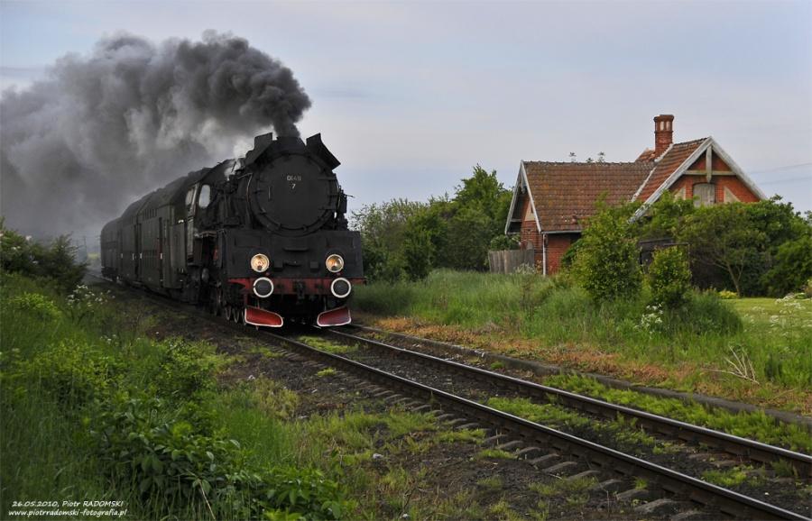 Młyniewo Nowotomyskie, pociąg osobowy   Wolsztyn - Poznań Gł.