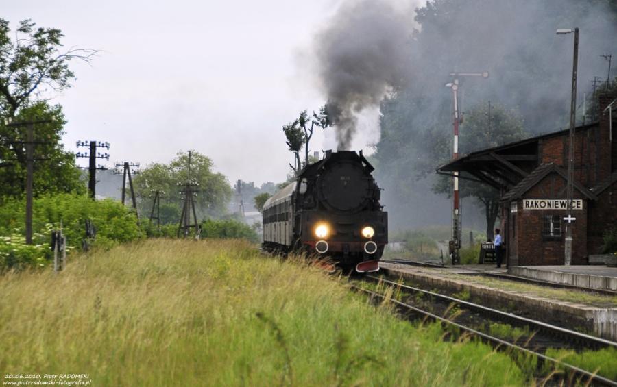 Rakoniewice, pociąg osobowy  Poznań Gł. - Wolsztyn