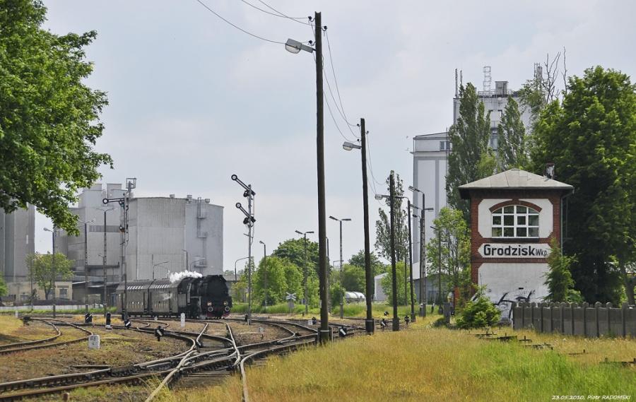 Grodzisk Wlkp., pociąg osobowy  Wolsztyn - Poznań Gł.