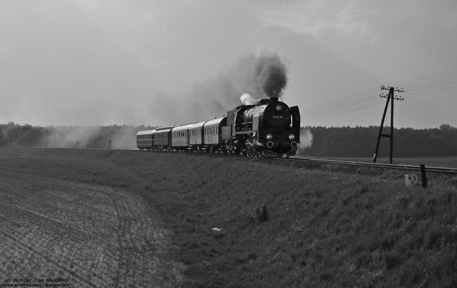 Rostarzewo, pociąg specjalny  Wolsztyn - Poznań Gł.
