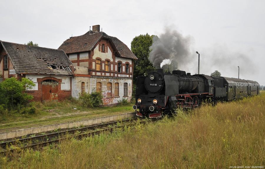 Ruchocice, pociąg osobowy  Poznań Gł. - Wolsztyn