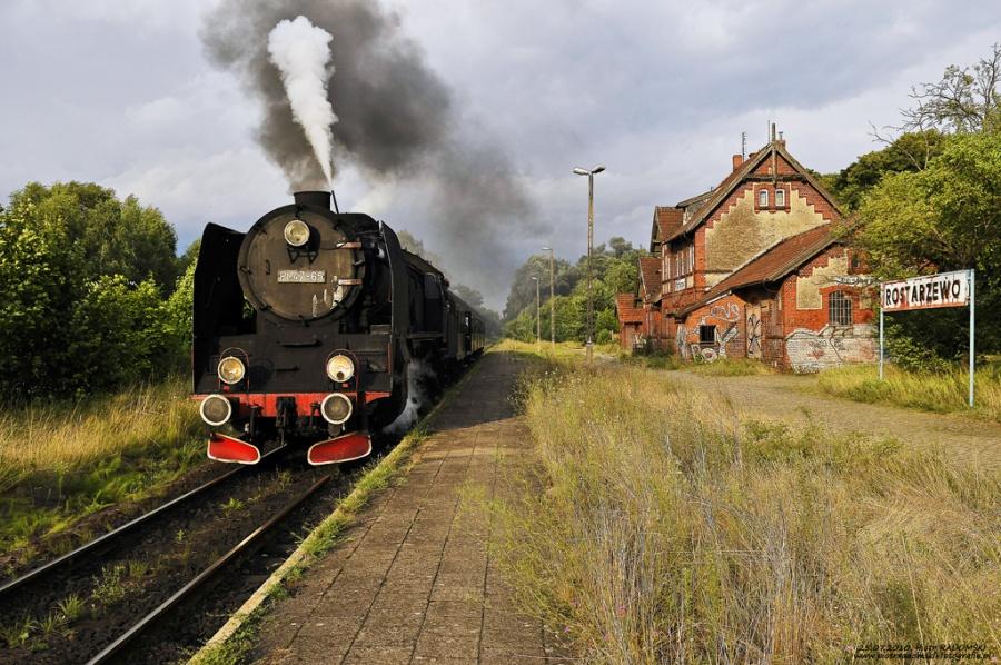 Rostarzewo, pociąg osobowy  Poznań Gł. - Wolsztyn