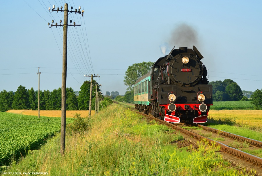 Ruchocice, pociąg osobowy Poznań Gł. - Wolsztyn -