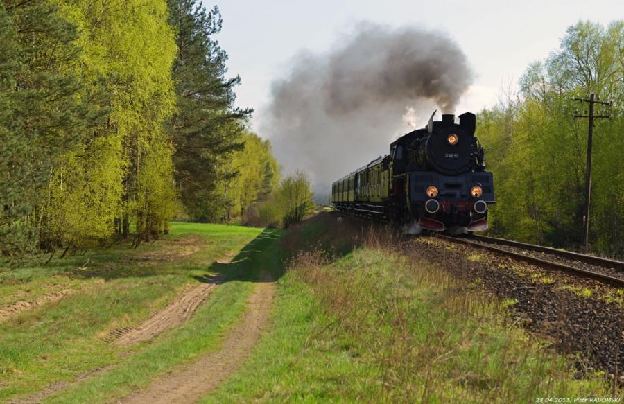 Tłoki, pociąg specjalny, Wolsztyn - Grodzisk Wlkp.