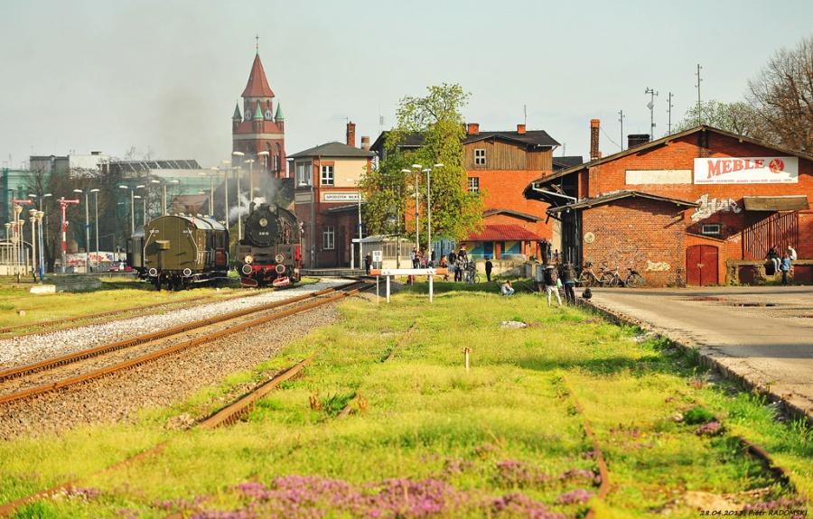 Grodzisk Wlkp., pociąg specjalny, Wolsztyn - Grodzisk Wlkp. - Wolsztyn