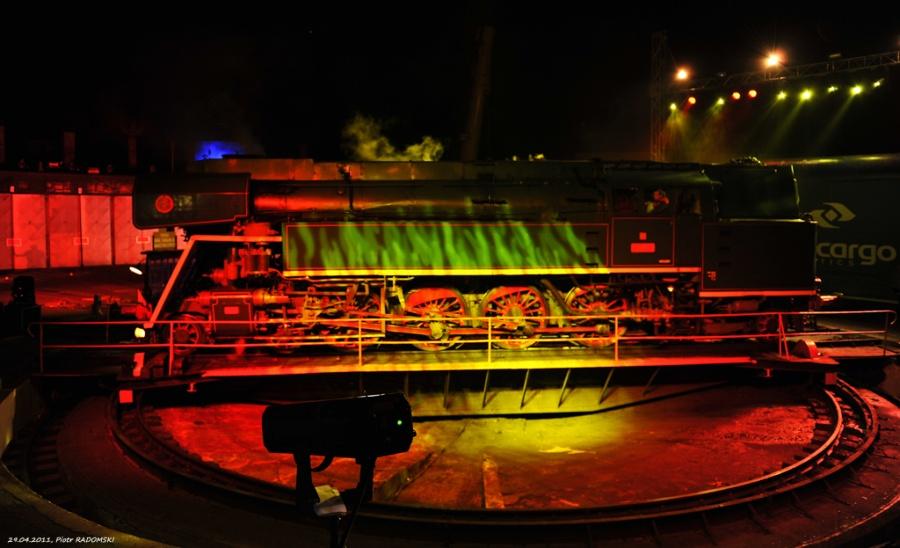 """Parowozownia Wolsztyn prezentacja parowozu z Czech 477.043 podczas """"PARADY PAROWOZÓW 2011"""""""