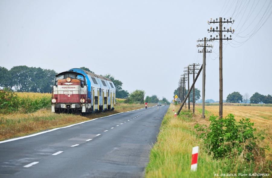 31.08.2013, Szołdry, SM42-593, Piknik kolejowy