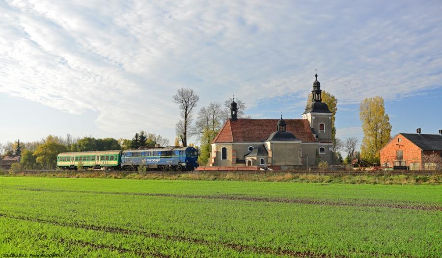 Pawłowice, pociąg osobowy Ostrów Wlkp.- Leszno