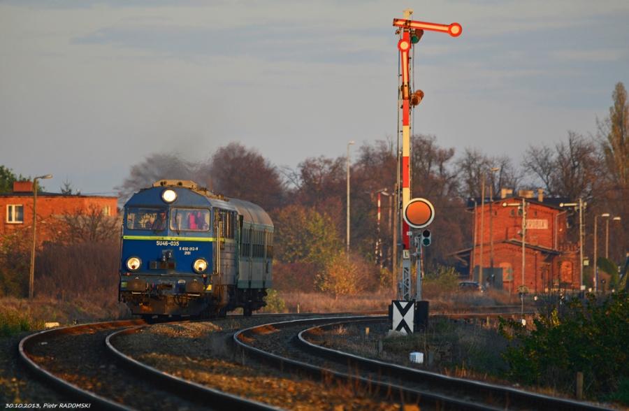Krobia, pociąg osobowy Ostrów Wlkp.- Leszno