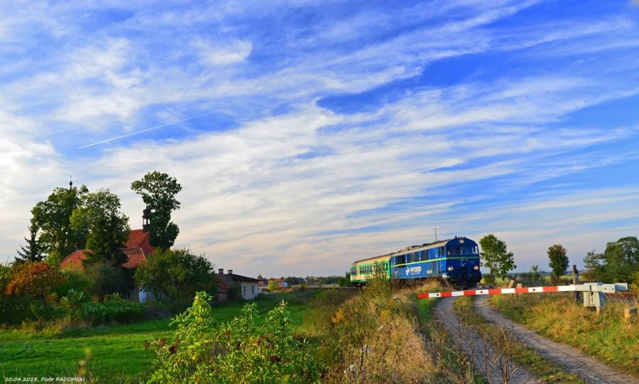 Pawłowice, pociąg osobowy Leszno - Ostrów Wlkp.