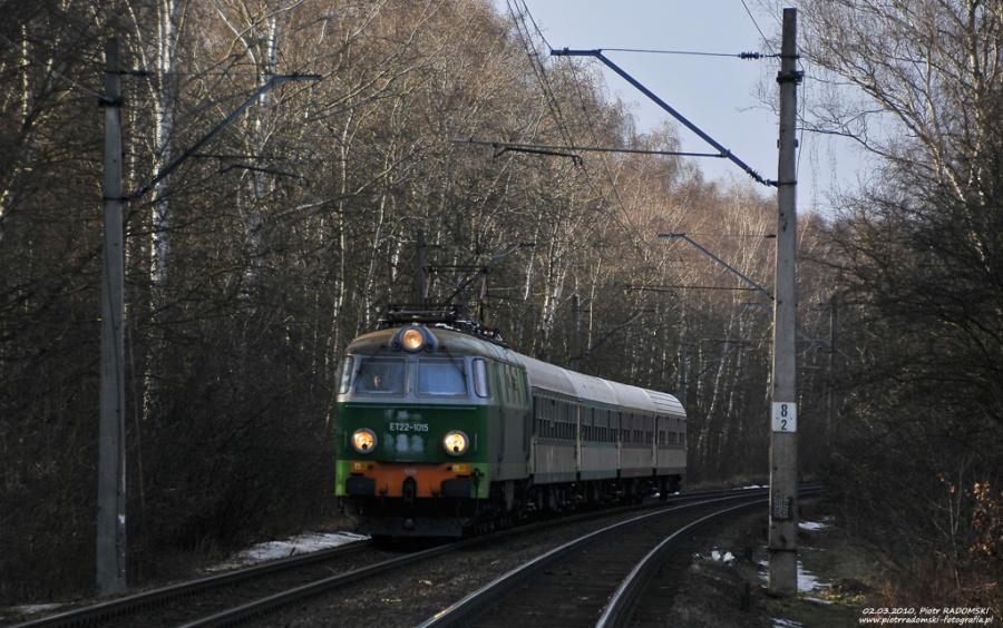 Poznań Wola, pociąg osobowy Szczecin - Poznań