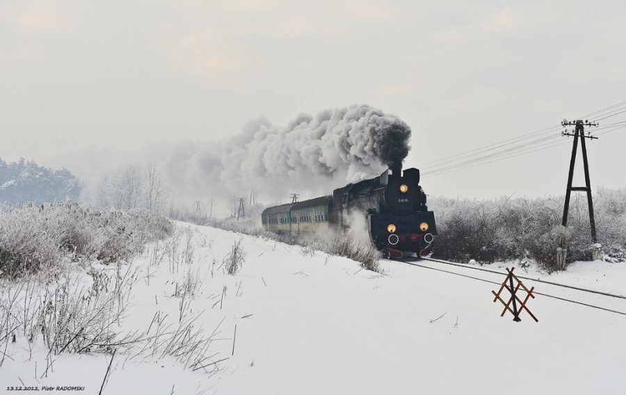 Drzymałowo. Pociąg osobowy. Wolsztyn - Poznań Gł.