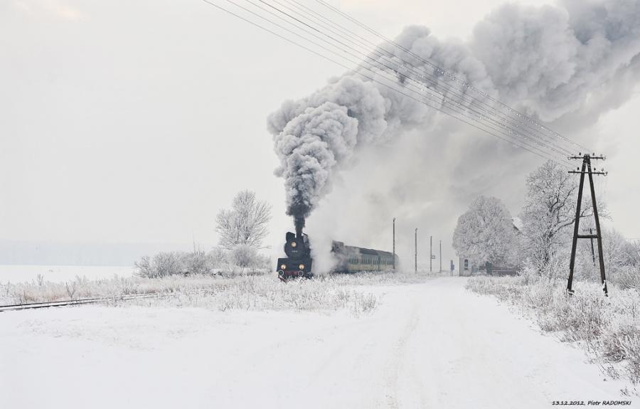Ruchocice. Pociąg osobowy. Wolsztyn - Poznań Gł.