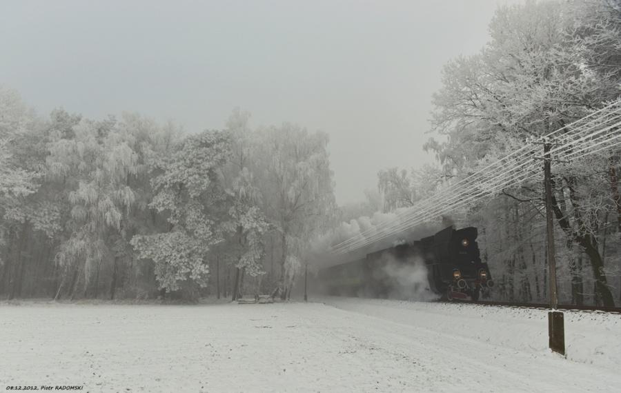 Granowo Nowotomyskie. Pociąg osobowy   Poznań Gł. - Wolsztyn.