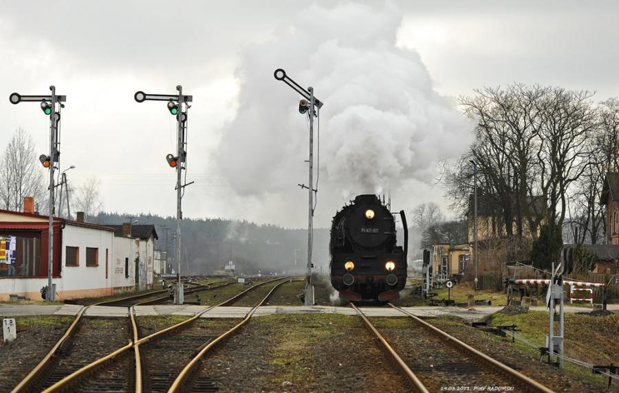 Włoszakowice. Pociąg osobowy Wolsztyn - Leszno.